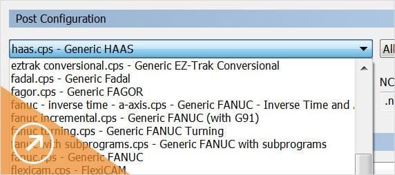 CNC-Code-spezifische Funktionen