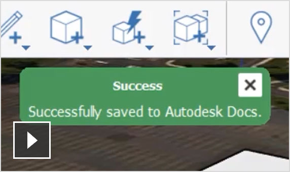 Video of building overview showing how Autodesk docs connects building design processes and design consults in a single place