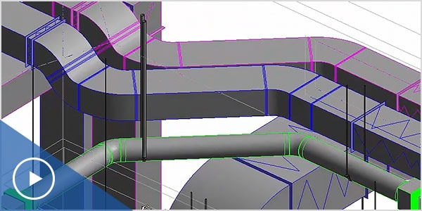 Video: MEP detailers create constructible models using Fabrication CADmep