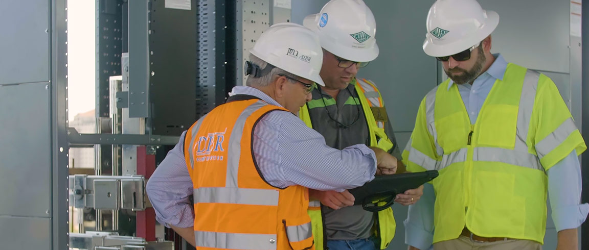 Video: Electric company prefabricates a complex electrical grid for a cancer treatment centre
