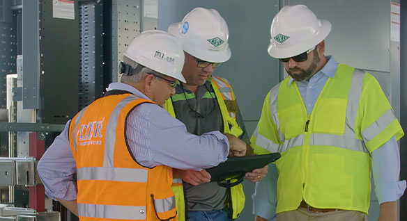 Video: Footage of Miller Electric's jobsite in Jacksonville, Fla showing the building of a nine-story cancer