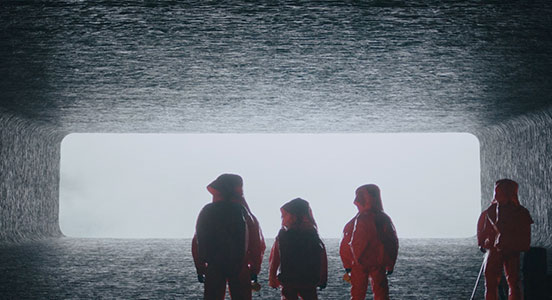 Feature film Arrival used Flame for VFX effects