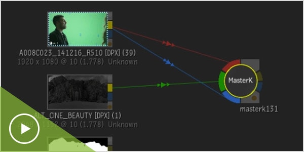 動画: ノードベースのコンポジティング(Batch)