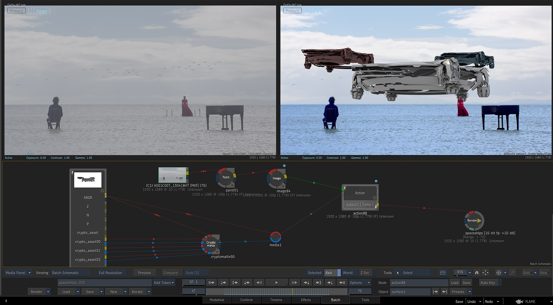 3D Visual Effects (VFX) Compositing Software | Flame