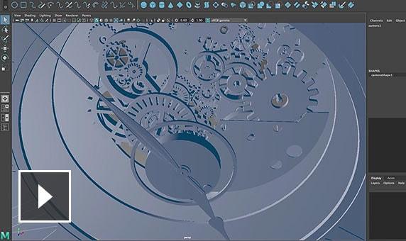 ビデオ:Flame と Maya の統合により、1 つのツールから別のツールにすばやく移動