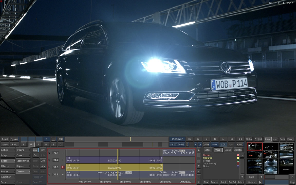 Luster professional post-production VFX tools