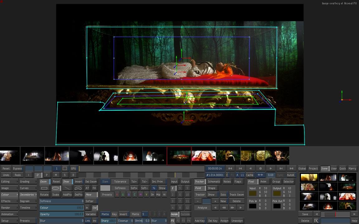 Autodesk Luster color grading software