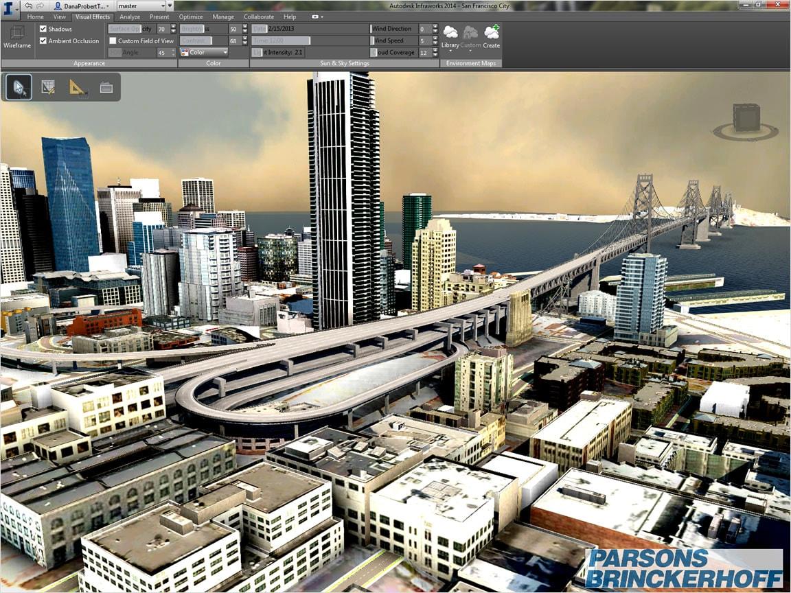 Взаимодействие Autocad Civil 3D И Autodesk Infraworks