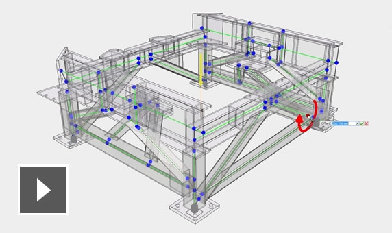Video: Simplify the design of structural frames with automated commands