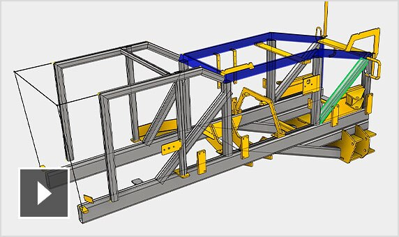 Video: Speed up the process of inserting frame members, applying end treatments and analysing the performance of frames
