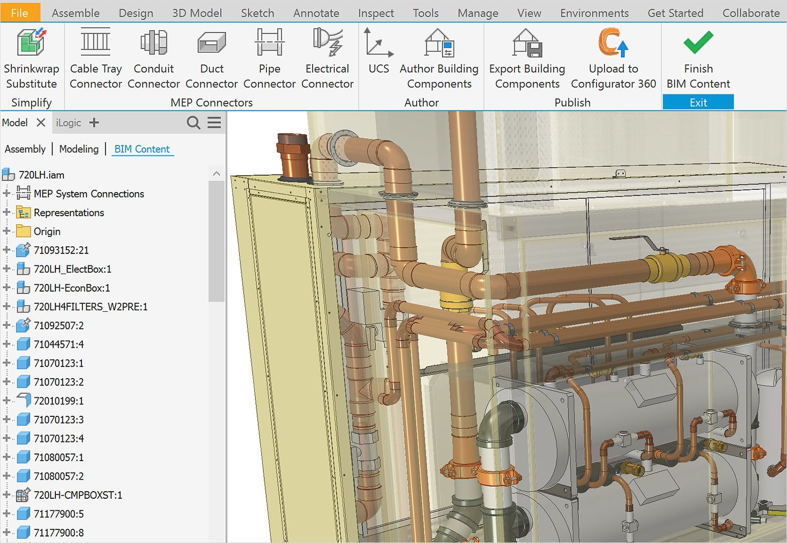 3d Cad Modeling Software Features Inventor 2020 Autodesk
