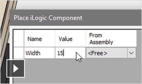 Video: Use iLogic to automate processes