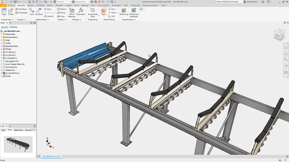 Inventor Mechanical Design 3d Cad Software Autodesk