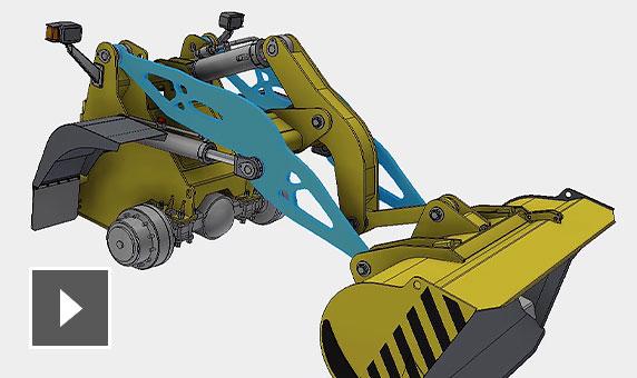 视频:了解如何在 Fusion 360 中打开 Inventor 设计,并使用衍生式设计来探索新设计替代方案