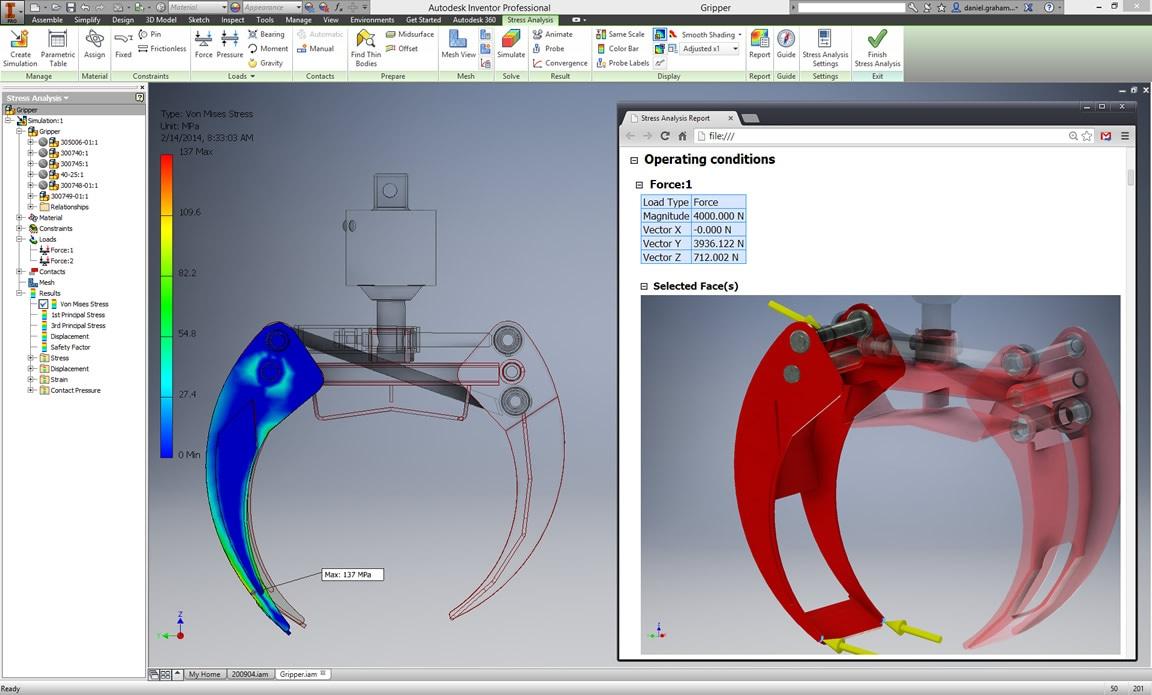 Autodesk Inventor full screenshot