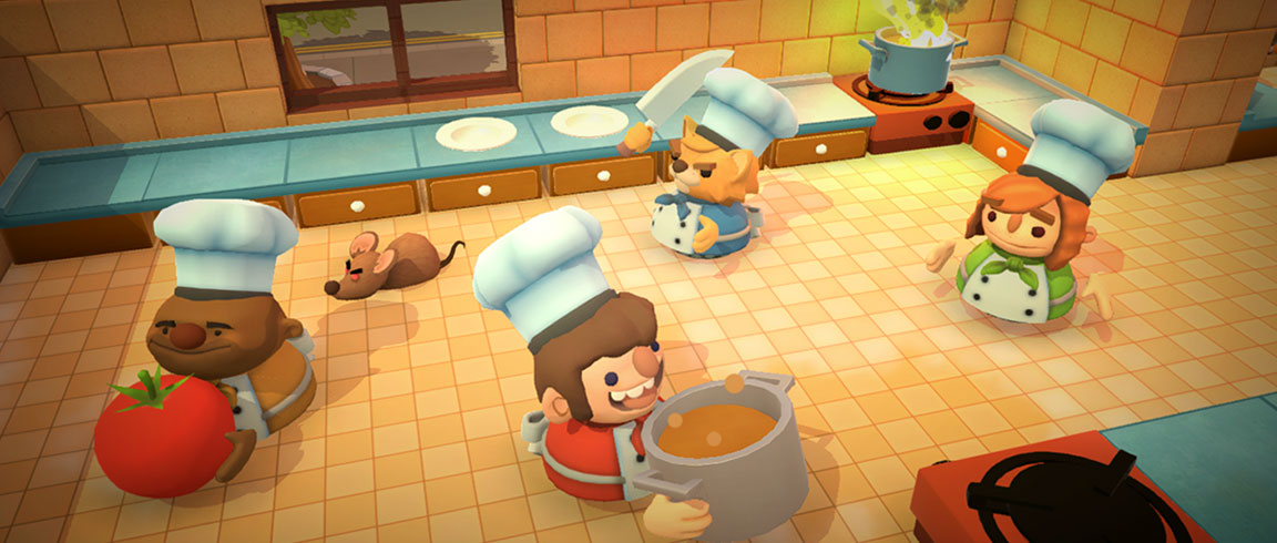 Podcast: Developers from Ghost Town Games discuss their multiplayer co-op game Overcooked