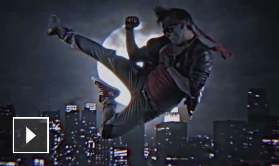The untold story of Kung Fury and Fido