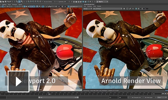 Video: Preview work in higher quality and save time by producing fewer preview renders to get the final result