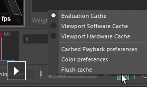 Video: Spend more time animating and less time waiting by using Cached Playback in Maya