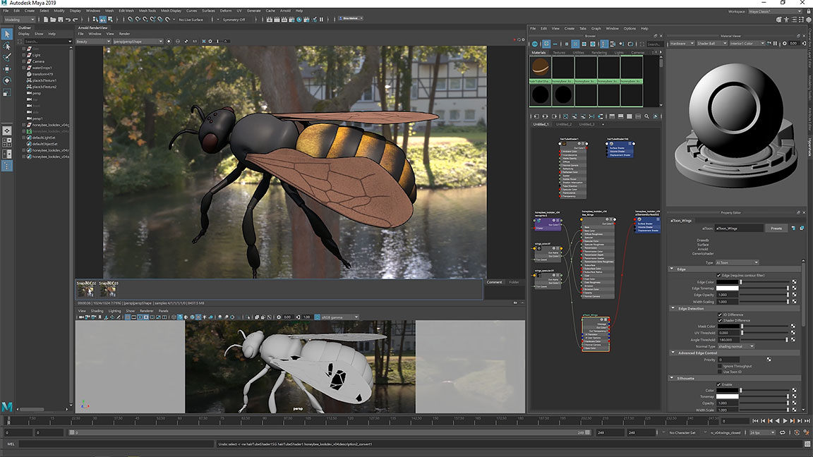 Maya Software Computer Animation Modeling Software Autodesk