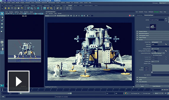 Vídeo: Saiba como o Arnold torna a renderização de produção mais rápida na CPU e na GPU, permitindo que você tenha mais tempo para expressar sua criatividade