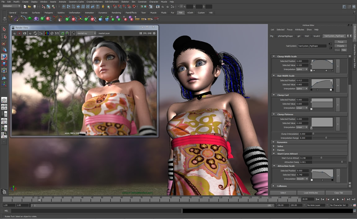 Autodesk Maya full screenshot