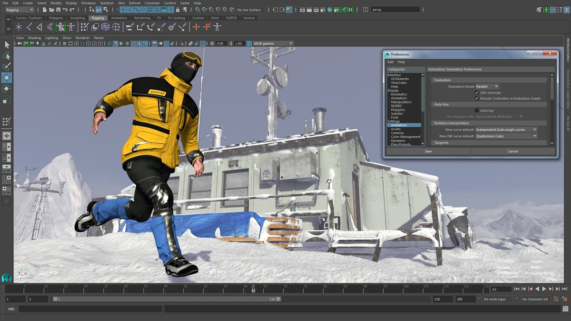 Video: Animation performance is now even faster in Maya