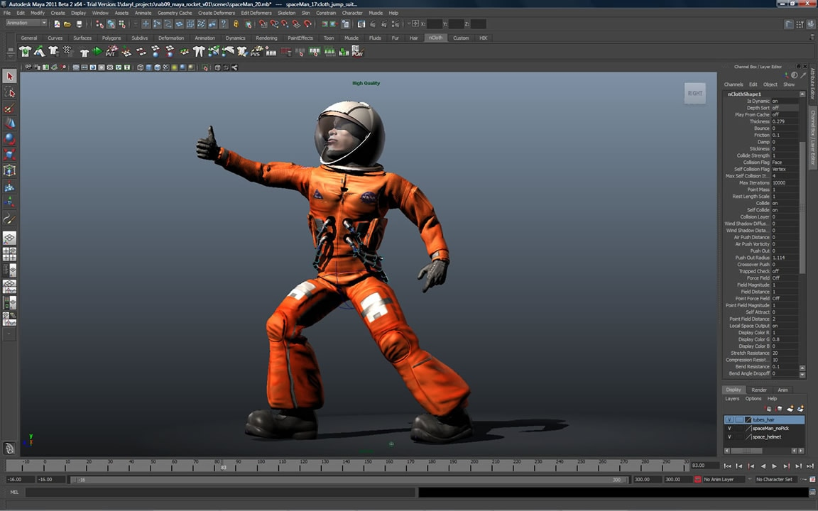 Maya 3d animation software for pc