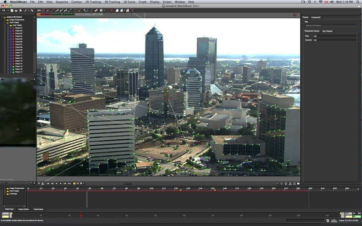 Professional Camera Tracking Maya Features