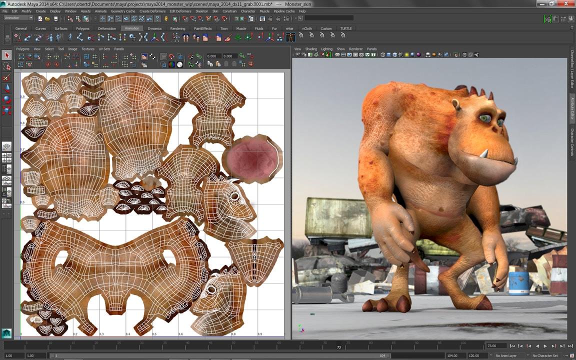 Strømlinjeformet arbeidsflyt for kreativ teksturering