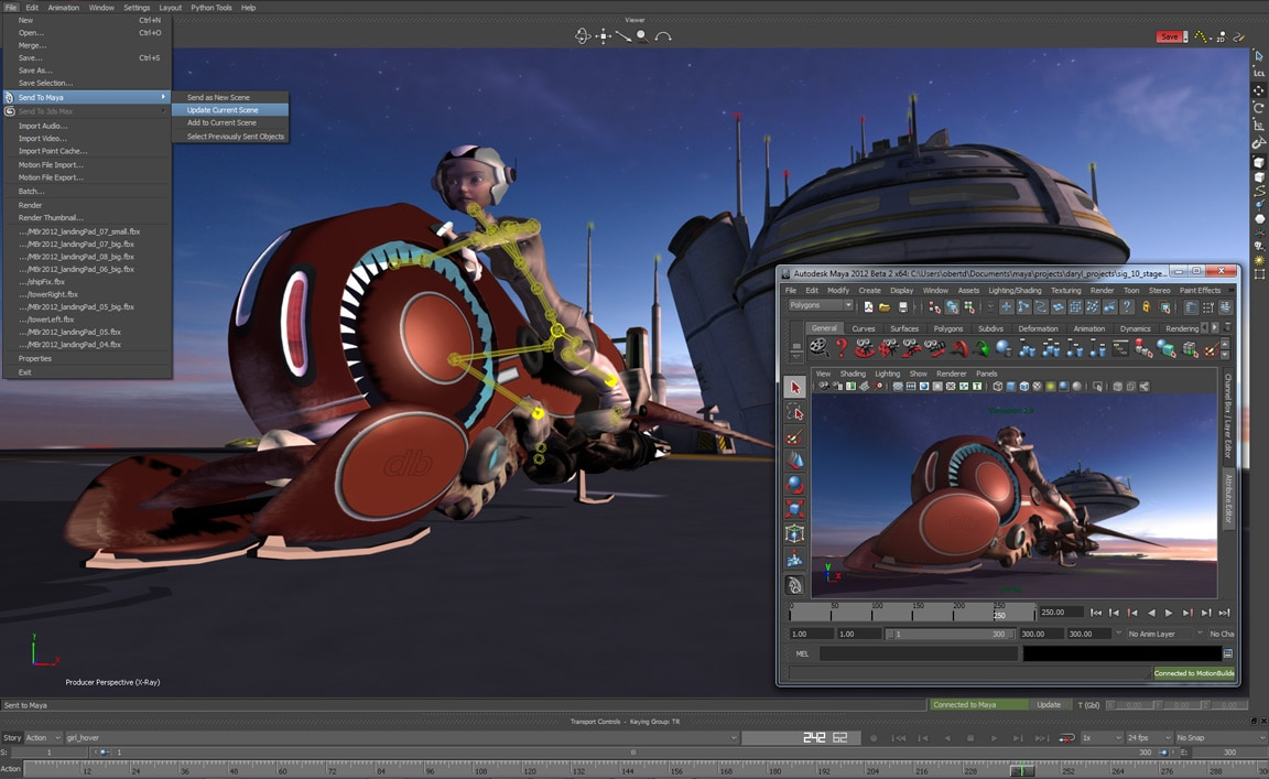 Free 3d Character Design Software Download : D character animation software motionbuilder autodesk