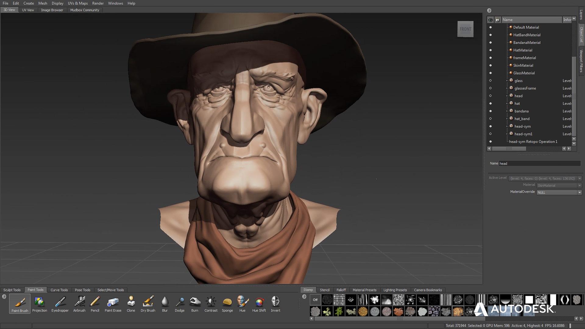 Autodesk Mudbox 2019 Mac 破解版 3d数字绘画和雕刻软件-麦氪搜(iMacso.com)
