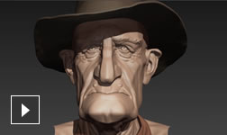 Video: Overview of Mudbox 3D digital sculpting and texture painting software
