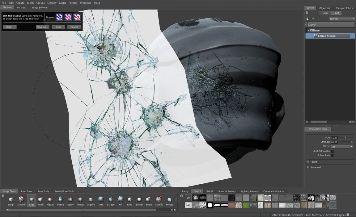 Digital Painting And Sculpting Software 3d Painting Mudbox