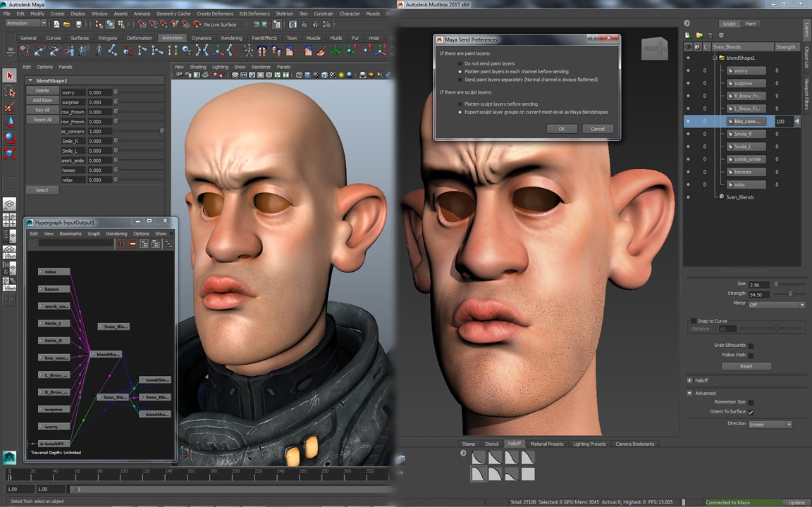 Mudbox | Digital painting and sculpting software | Kanisco