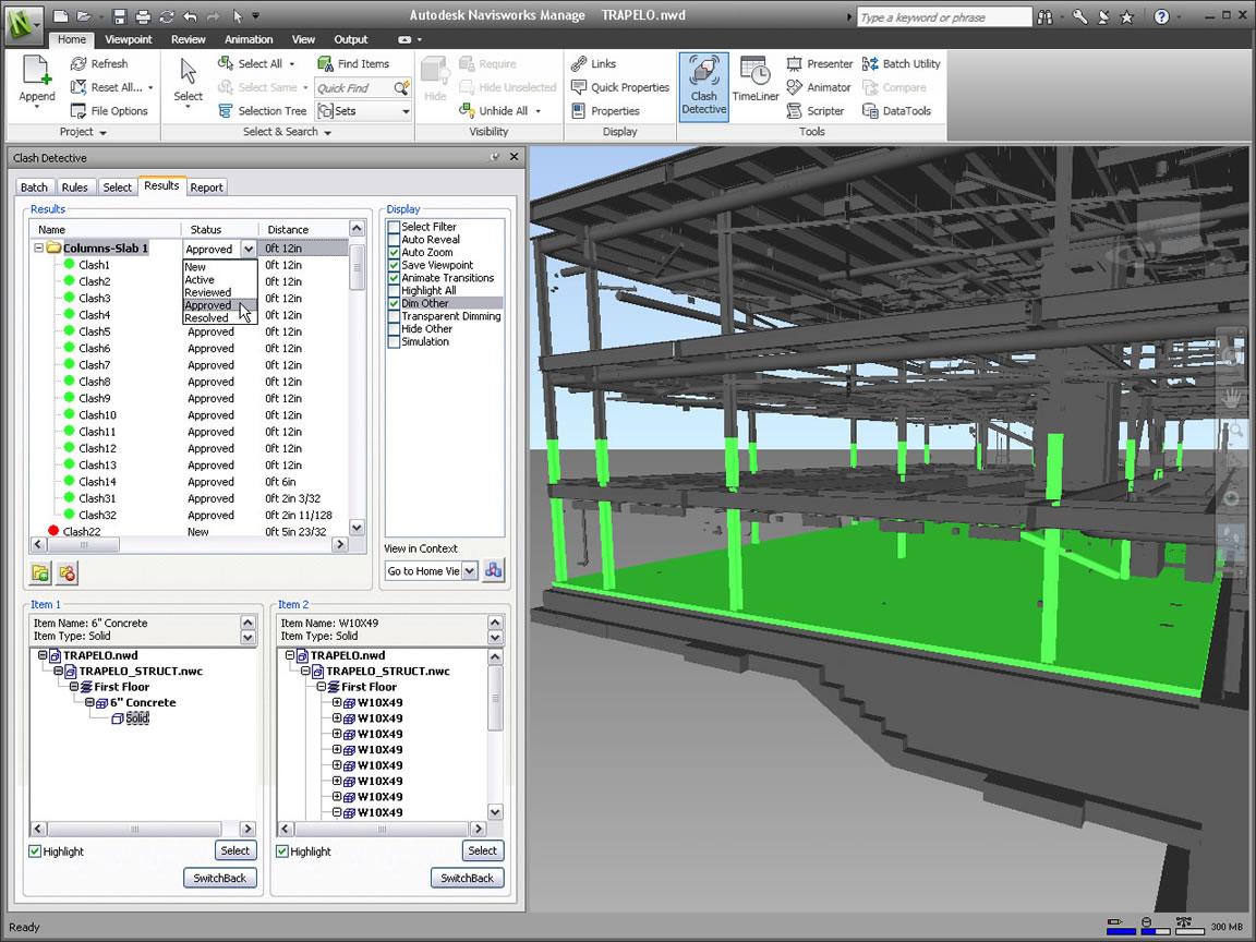Navisworks Projektprüfung Autodesk