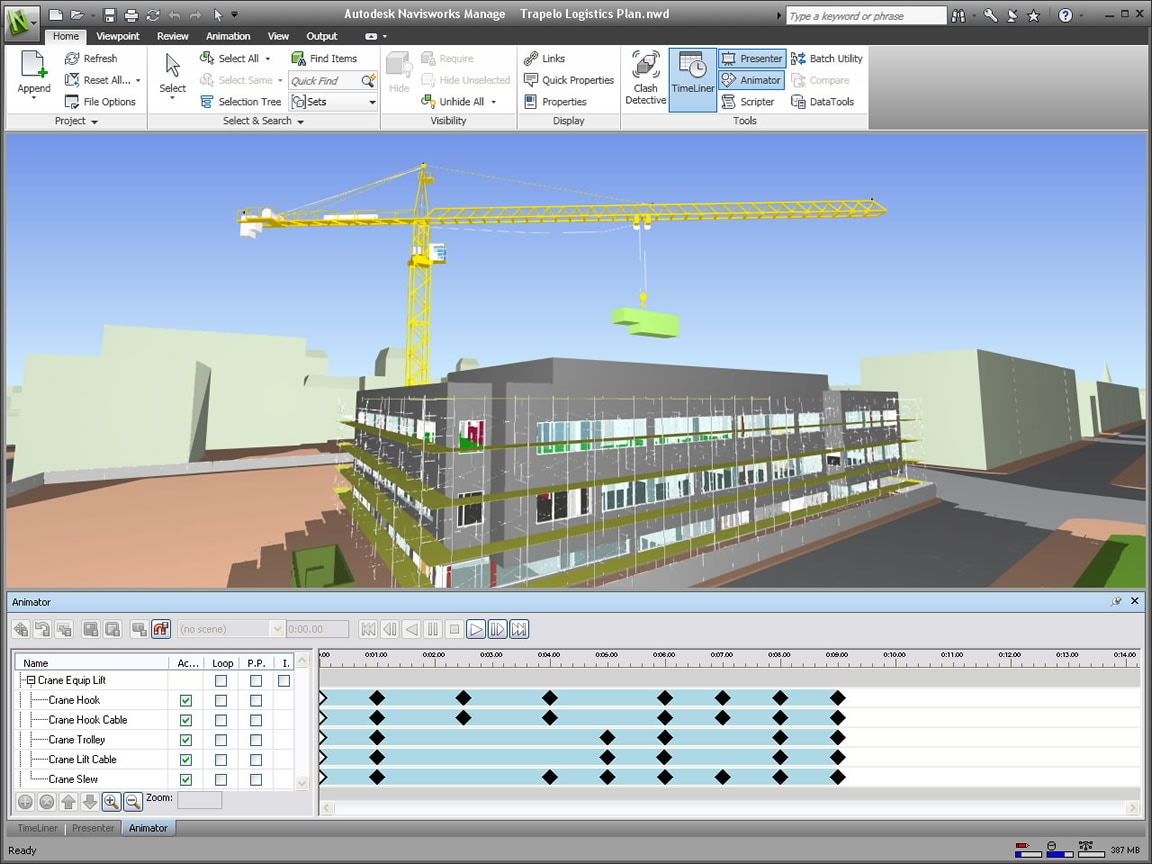 Navisworks project review software autodesk for Project 5d