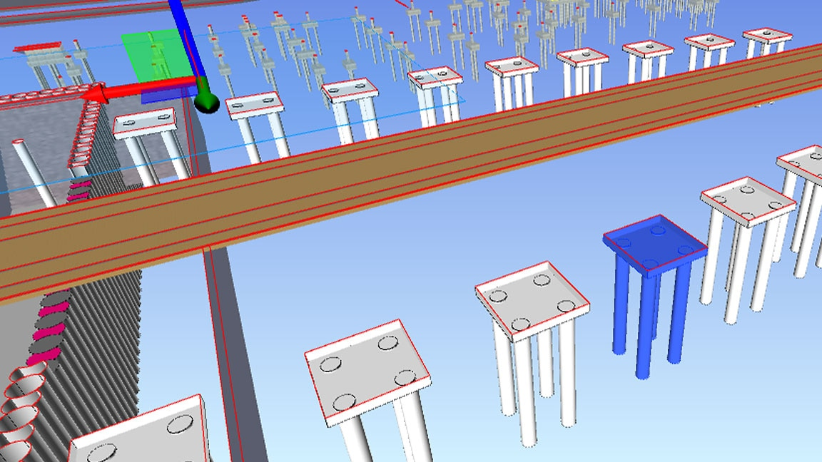 Image of Navisworks 4D schedule simulation software
