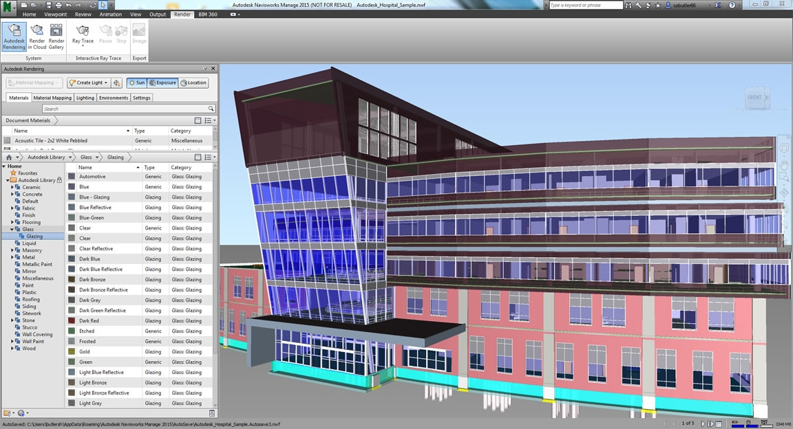 Os aprimoramentos na renderização se integram com outros produtos da Autodesk