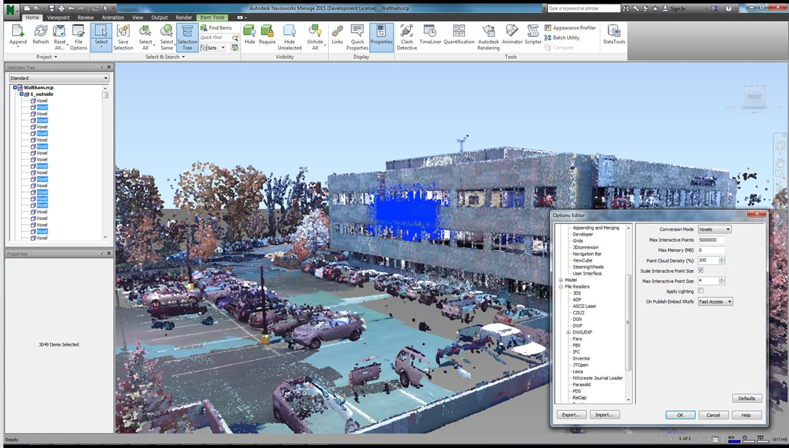 Enhanced point cloud integration
