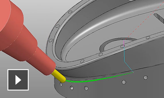Vidéo : Usinage multiaxial