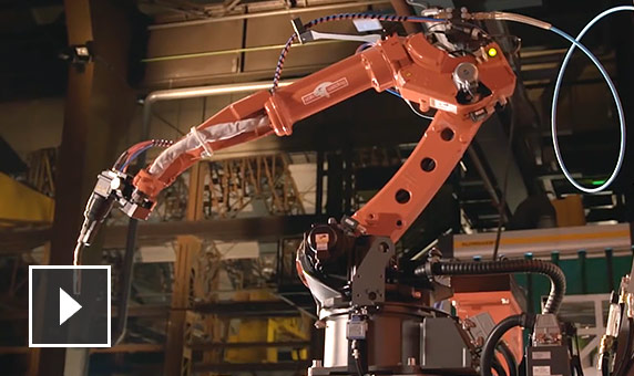 Video: PowerMill is ideal CAM software for manufacturers who want to program large or complex parts with industrial robots