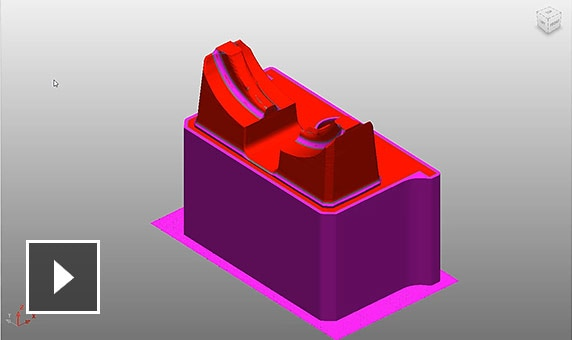 Video: Identify and visualise unmachined stock