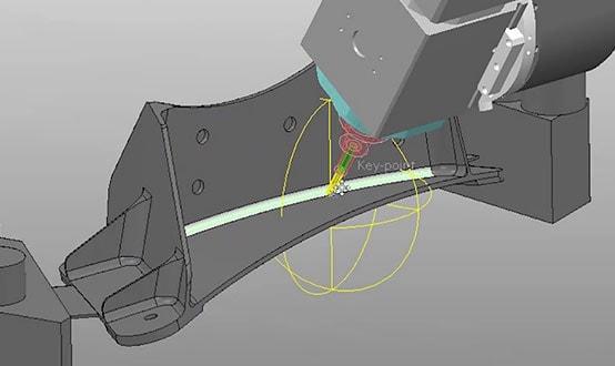 Dynamic machine control image