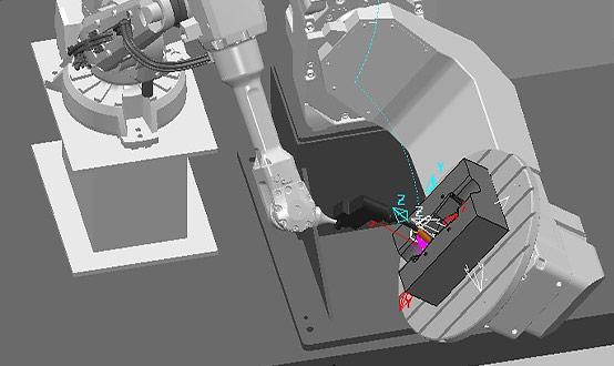 Industrial robots image