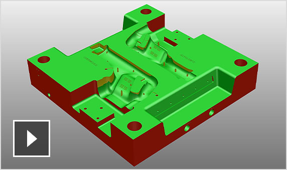 Video: PowerShape provides tools to help import, analyze, fix, and prepare 3D CAD models for CAM programming