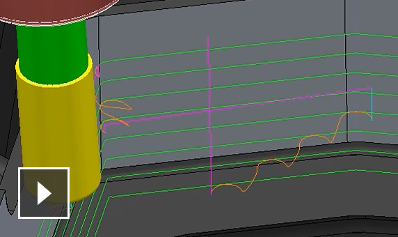 Video: Staggered start points can be automatically applied to toolpaths that contain closed passes