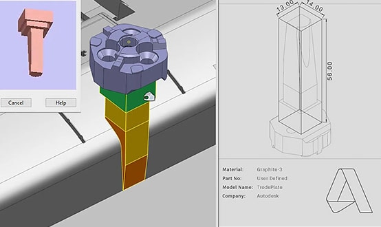 Electrode design and manufacture features