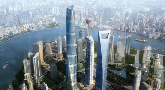 Genslers Shanghai Tower