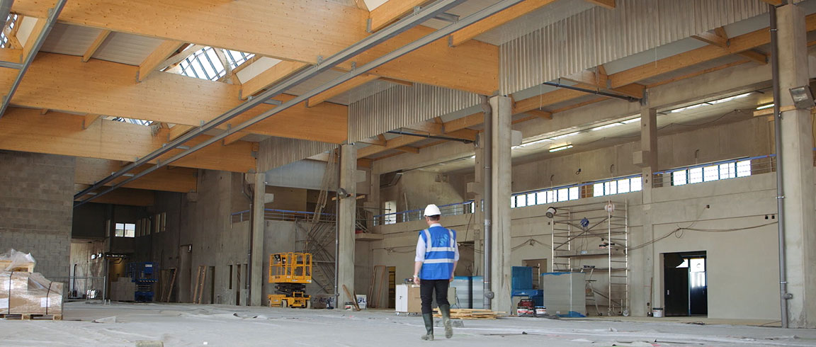Video: Interior de construcción